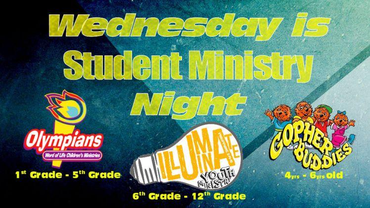 student ministry slide 2